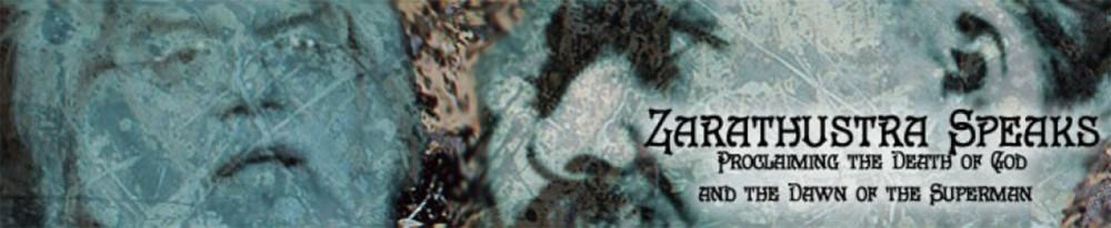 Zarathustra Speaks, a blog by Robert M. Price